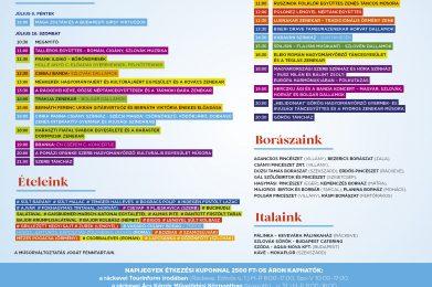 KeveFeszt21- Országos Nemzetiségi Kulturális Fesztivál és Gasztronómiai Napok