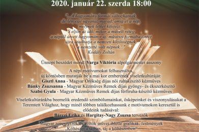Magyar Kultúra Napja – Összművészeti Tárház