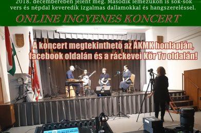 Magyar Kultúra Napja – online koncert