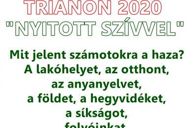 """TRIANON 2020 """"Nyitott szívvel"""" c. kiállítás"""